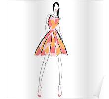 spring dress Poster