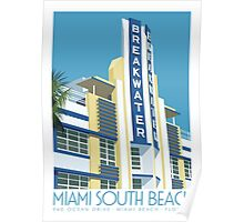 Breakwater Hotel, Miami Poster