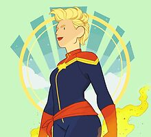 Captain Marvel by lomonte