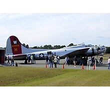 WW II Era B-17G Bomber (Flying Fortress) Photographic Print