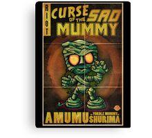 Amumu - Curse of the Sad Mummy! Canvas Print