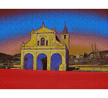 Church in Liguria Photographic Print