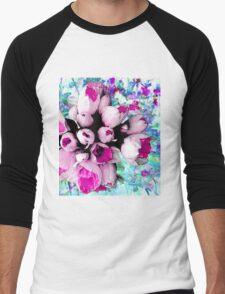 Daffodils Men's Baseball ¾ T-Shirt