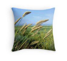Wheat a Bix Throw Pillow