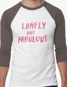Lonely But Fab Men's Baseball ¾ T-Shirt