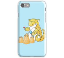 Sandshrews in the Sand iPhone Case/Skin