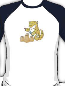 Sandshrews in the Sand T-Shirt