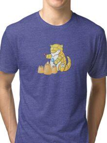 Sandshrews in the Sand Tri-blend T-Shirt