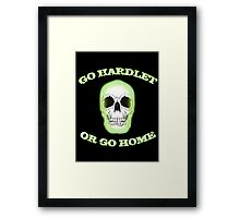 Go Hard(let) or go home [GLOW] Framed Print