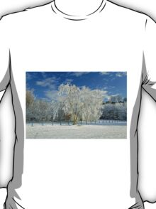 Frosted Trees, Newton Road Park T-Shirt