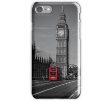 Big Ben and London Bus iPhone Case/Skin