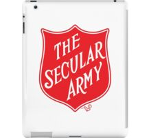 The Secular Army by Tai's Tees iPad Case/Skin