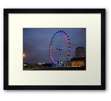 London Eye Framed Print
