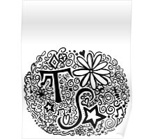 Taylor Swift Doodle Poster
