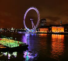 The London Eye by Roddy Atkinson