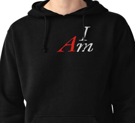 I AM by Tai's Tees (wht) Pullover Hoodie