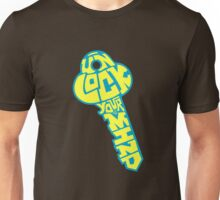 UNLOCK YOUR MIND by Tai's Tees Unisex T-Shirt