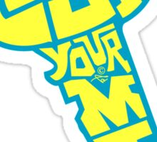 UNLOCK YOUR MIND by Tai's Tees Sticker