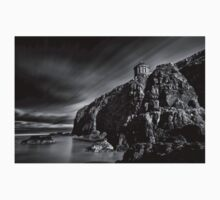 Mussenden Temple and Sea Stack Baby Tee