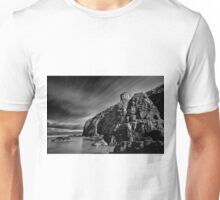 Mussenden Temple and Sea Stack Unisex T-Shirt