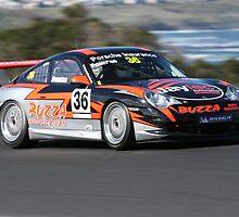 Flying Porsche GT3 by zoompix