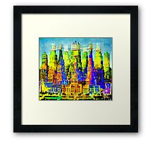 IN THE MERRY OLD LAND OF OZ: American Monument Nr. 8 Framed Print