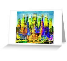 IN THE MERRY OLD LAND OF OZ: American Monument Nr. 8 Greeting Card