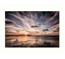 Atlantic Sky Art Print