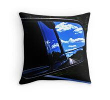 """""""This ol' highway's getting longer...."""" Throw Pillow"""