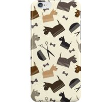 Terriers and Scissors iPhone Case/Skin