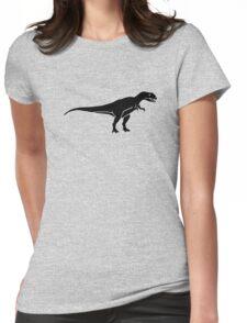 Allosaurus dinosaur Womens Fitted T-Shirt