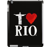 I Heart Rio de Janeiro (remix) by Tai's Tees iPad Case/Skin