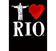 I Heart Rio de Janeiro (remix) by Tai's Tees Photographic Print