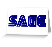 SEGA SAGE Greeting Card