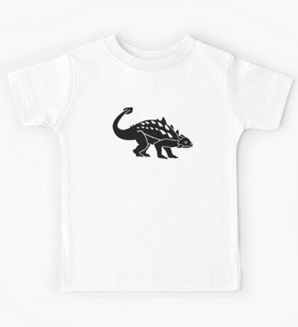 Ankylosaurus dinosaur Kids Tee