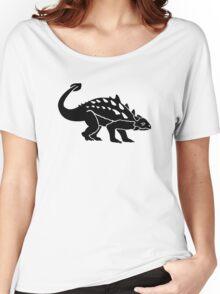Ankylosaurus dinosaur Women's Relaxed Fit T-Shirt