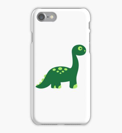Brachiosaurus dinosaur iPhone Case/Skin