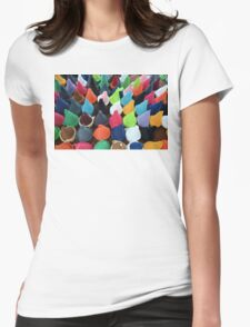 Colors Womens Fitted T-Shirt