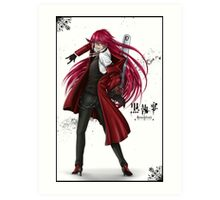Grell : Red Death Art Print