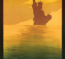 Statue of Liberty (Reproduction) by Roz Abellera Art Gallery