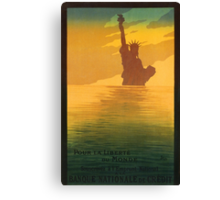 Statue of Liberty (Reproduction) Canvas Print