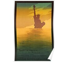 Statue of Liberty (Reproduction) Poster