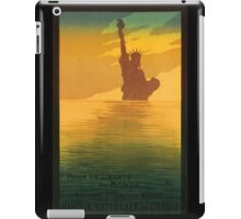 Statue of Liberty (Reproduction) iPad Case/Skin