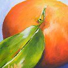 Mandarin from my backyard no.2 by Jane Whittred