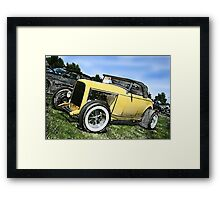 The Car Show... Framed Print