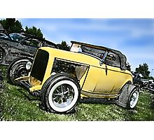 The Car Show... Photographic Print