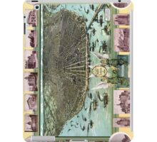 Bird's-eye view of Saint Louis in 1896. iPad Case/Skin