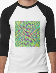 Abstract / Psychedelic / Geometric Artwork Men's Baseball ¾ T-Shirt