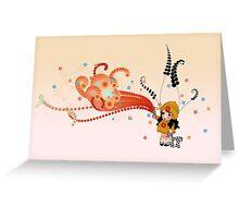 molly -2 Greeting Card