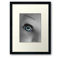 SOLD - EYE TO EYE Framed Print